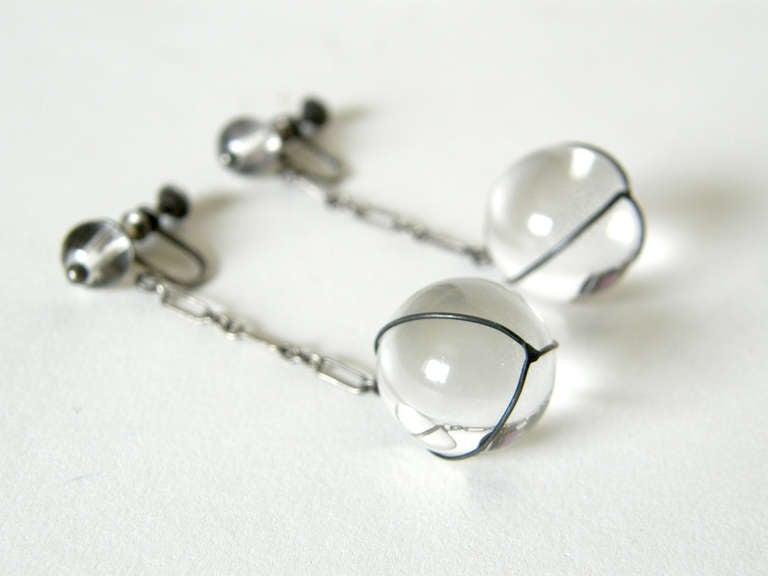 "Women's ""Pools of Light"" Earrings For Sale"