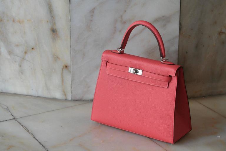 890c5db65138 ... wholesale pink hermes kelly epsom jaipur 25 for sale f0853 010e9