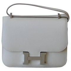 Hermes Constance Mini Epsom Craie Bag