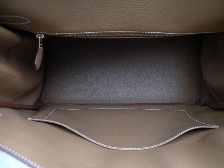 Hermes Birkin Bag 35cm Gold Togo Gold Hardware Horseshoe  7