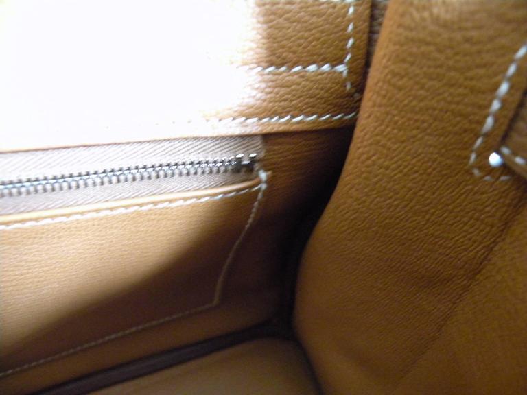 Hermes Gold Togo Birkin 30cm Palladium Hardware 7