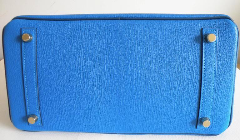 Hermes HSS Special Order Birkin 30cm Blue Hydra and Blue Saphire 8