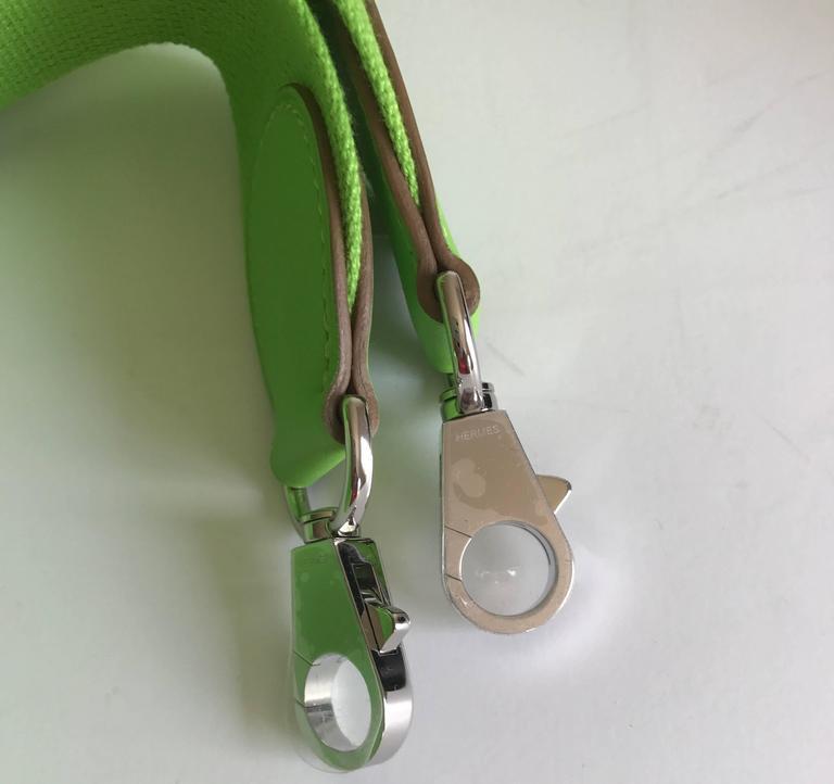 Hermes Toolbox Mini 20cm Granny Green  6
