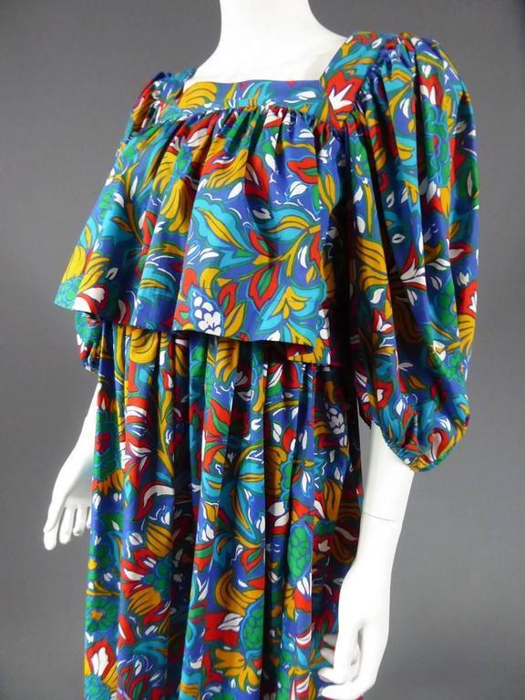 Yves Saint Laurent Russian Ballet Collection Dress 3