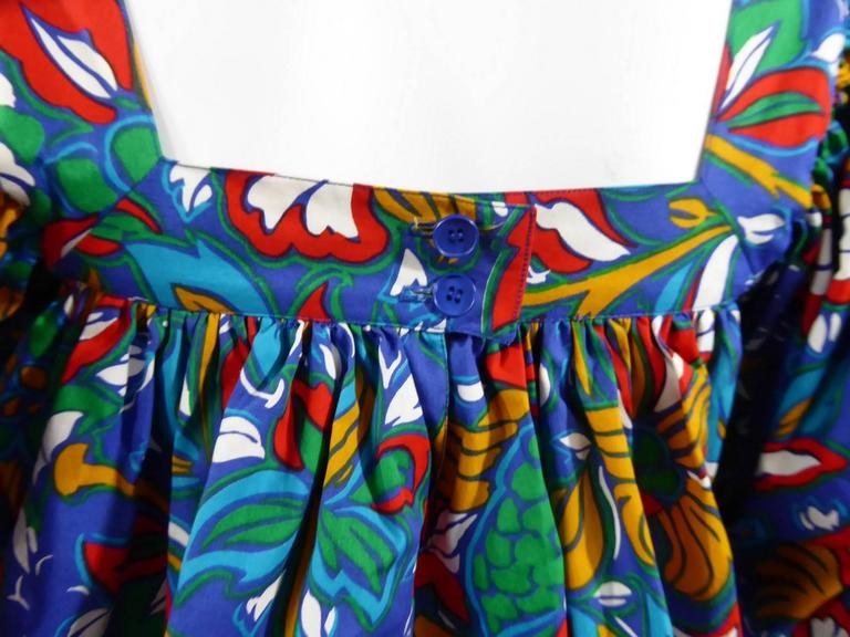 Yves Saint Laurent Russian Ballet Collection Dress 8