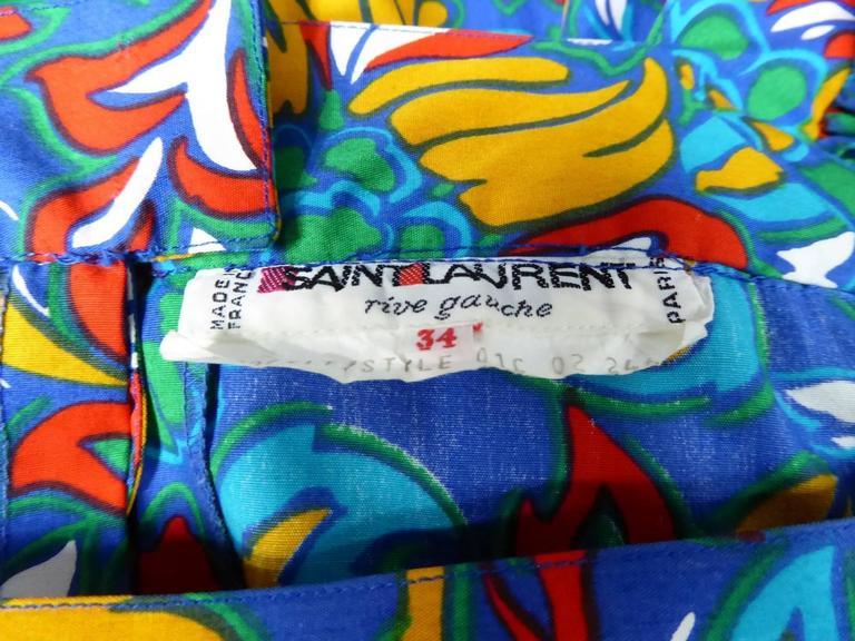 Yves Saint Laurent Russian Ballet Collection Dress 9