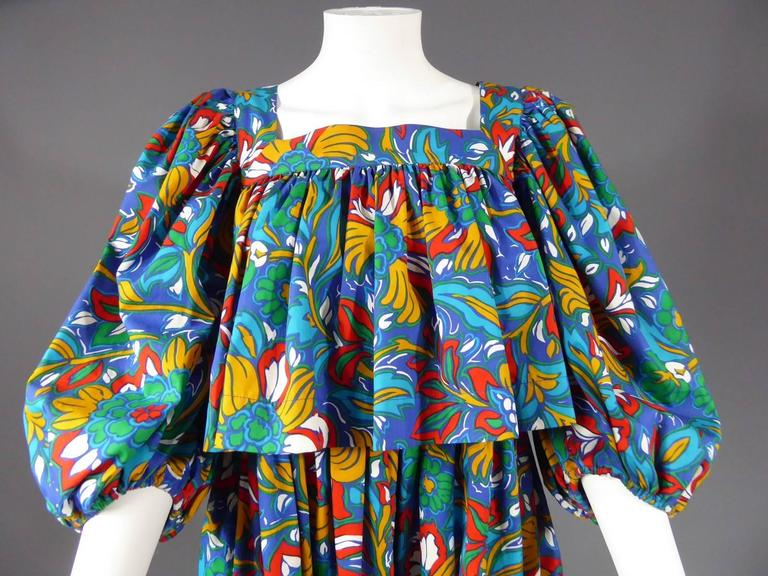 Yves Saint Laurent Russian Ballet Collection Dress 4