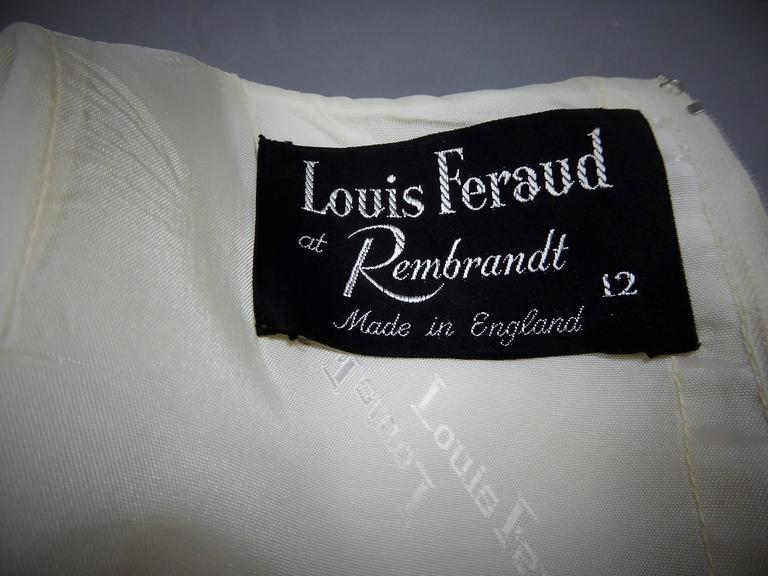 Louis Féraud At Rembrandt Dress, Circa 1980 For Sale 4