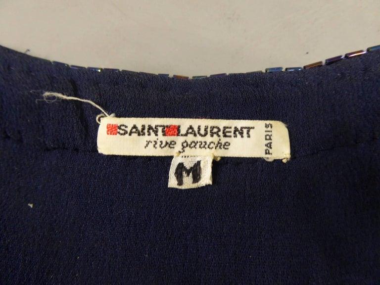 Yves Saint Laurent Rive Gauche Sweater Dress For Sale 5