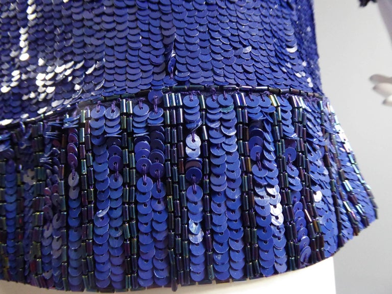 Yves Saint Laurent Rive Gauche Sweater Dress For Sale 4