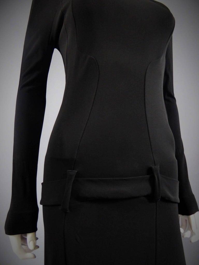 Black Balenciaga Dress For Sale