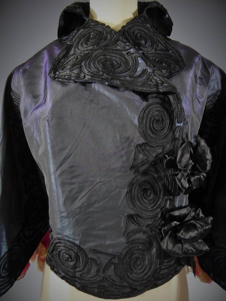 Jacques Doucet Haute Couture Evening Mantle, Circa 1900 For Sale 1