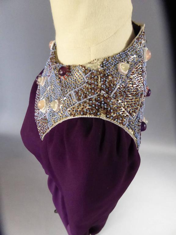 Nina Ricci Couture Kleid Kollektion Jeune Femme, 1970er Jahre 6