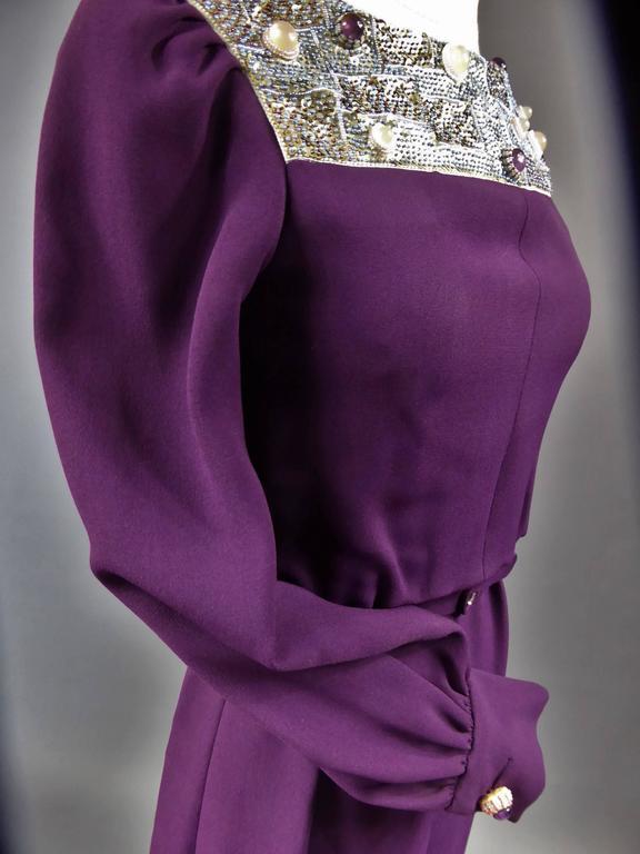 Nina Ricci Couture Kleid Kollektion Jeune Femme, 1970er Jahre 3