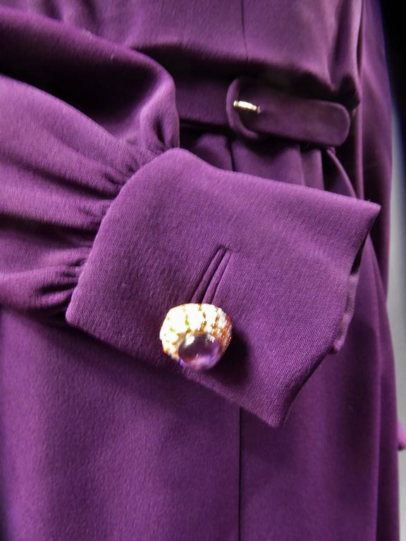 Nina Ricci Couture Kleid Kollektion Jeune Femme, 1970er Jahre 4