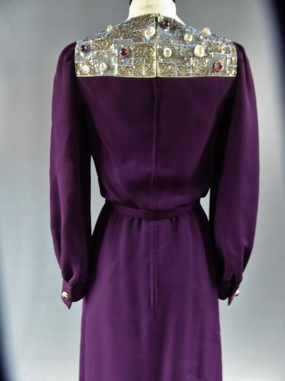 Nina Ricci Couture Kleid Kollektion Jeune Femme, 1970er Jahre 7