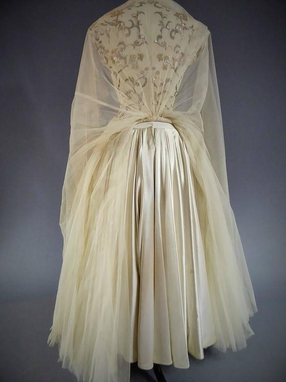 Jeanne Lanvin Catwalk Couture Gown Circa 1945/1950 4