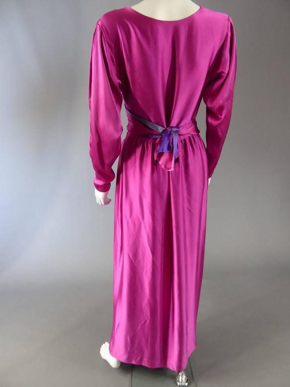 Lanvin Haute Couture Evening Dress Numbered 18073 For Sale 1