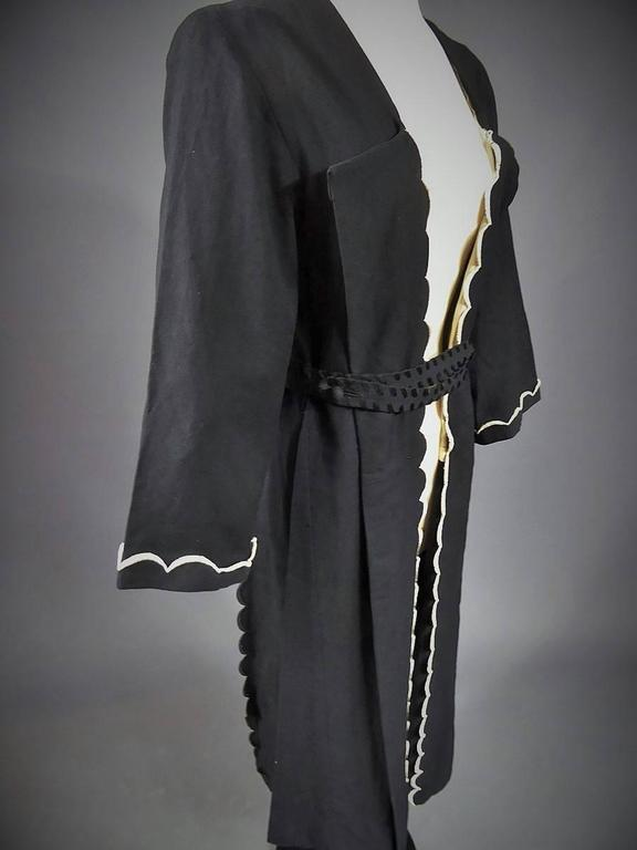 Evening or interior kaftan madeleine ch ruit haute couture for 1920 s haute couture