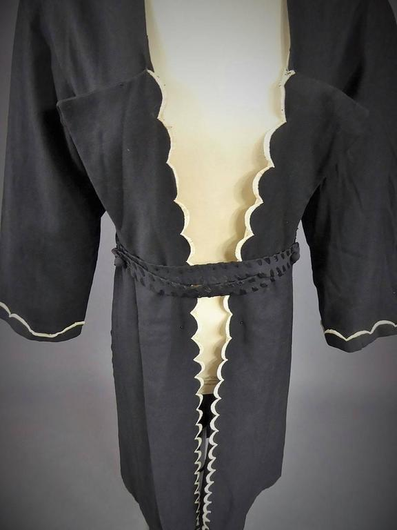 Evening Or Interior Kaftan Madeleine Chéruit Haute Couture Circa 1920/30 For Sale 2