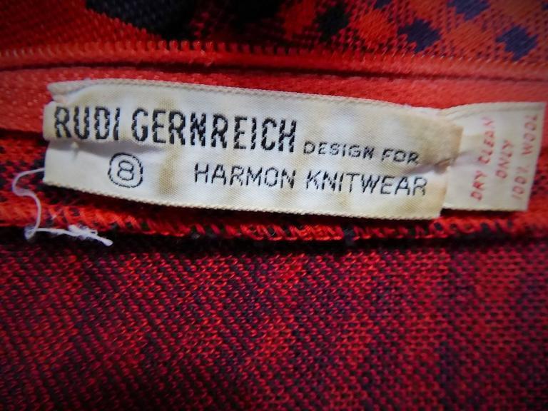 Rudi Gernreich Couture-Kleid 8