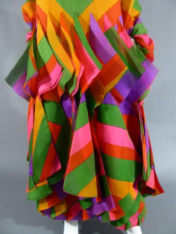 Women's Pierre Cardin Haute Couture Evening Dress, circa 1970 For Sale