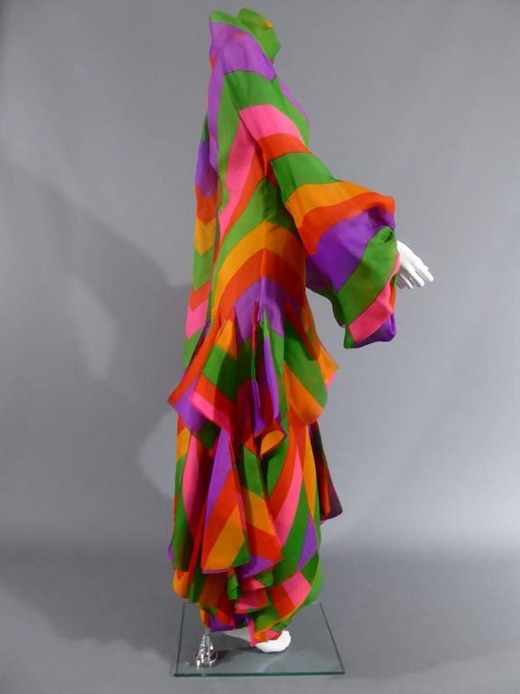 Pierre Cardin Haute Couture Evening Dress, circa 1970 For Sale 2