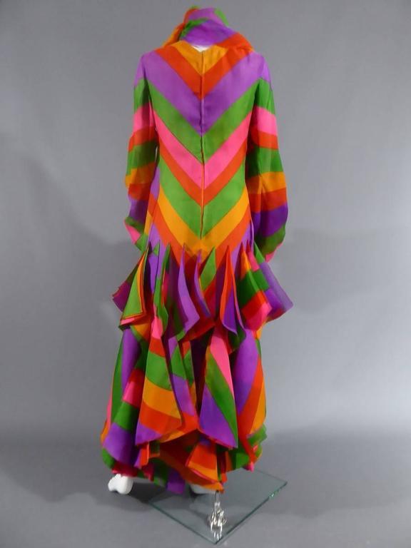 Pierre Cardin Haute Couture Evening Dress, circa 1970 For Sale 3