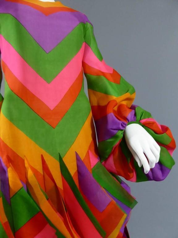 Pierre Cardin Haute Couture Evening Dress, circa 1970 For Sale 4