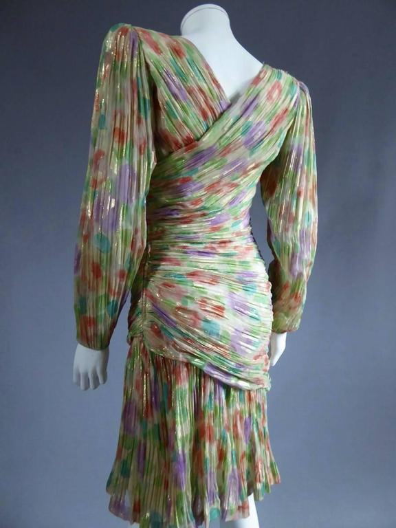Women's Emanuel Ungaro Haute Couture Dress Numbered 861 For Sale
