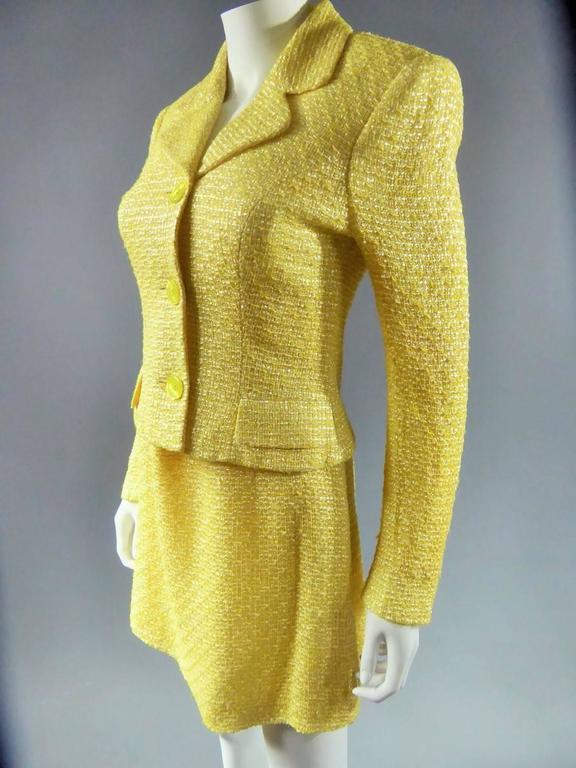 Versace Suit Skirt 2