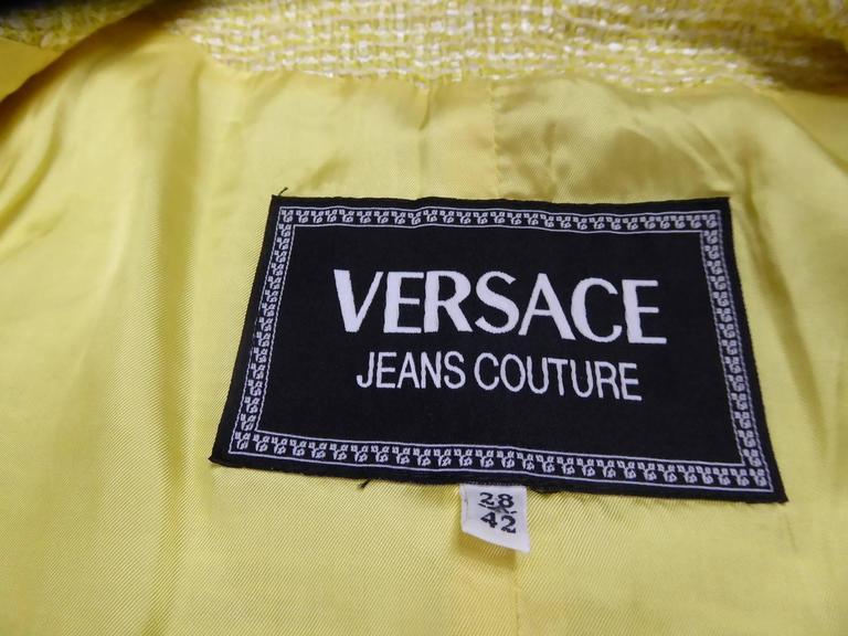 Versace Suit Skirt 6