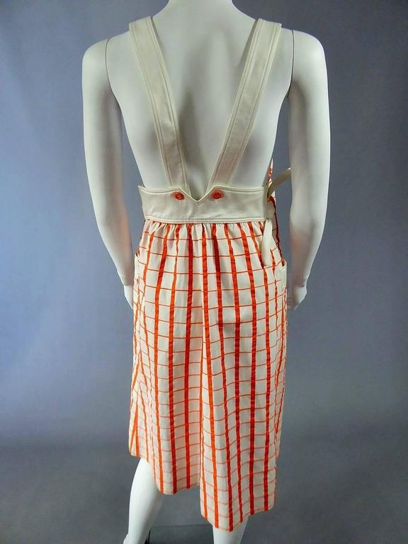 André Courrèges Dress Numbered 19055 In Excellent Condition For Sale In Toulon, FR
