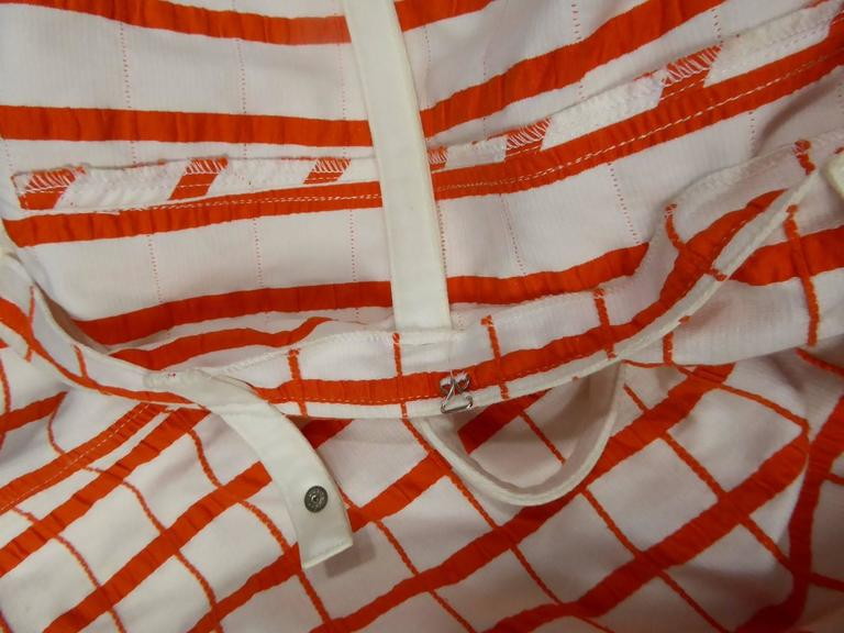 André Courrèges Dress Numbered 19055 For Sale 3