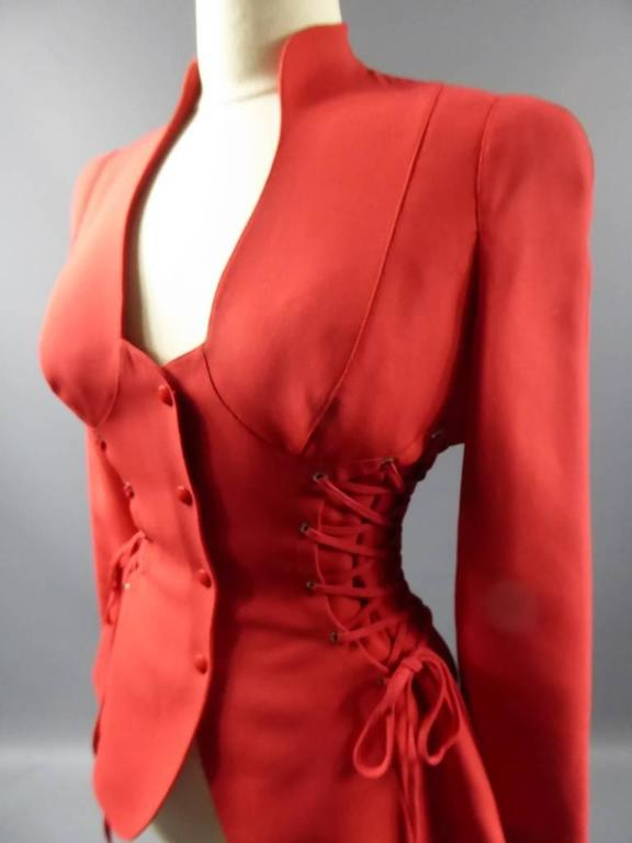 Thierry Mugler Jacket In Excellent Condition For Sale In Toulon, FR