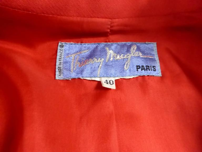 Thierry Mugler Jacket For Sale 5