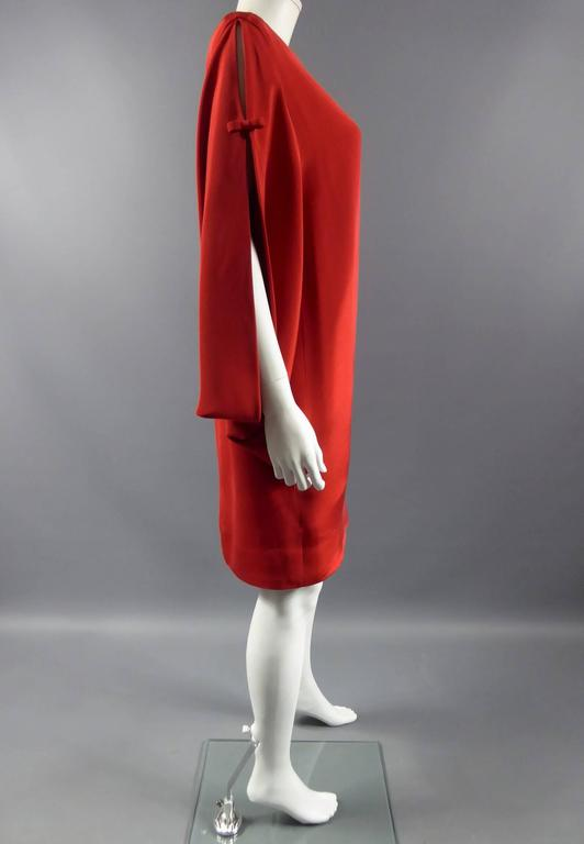 Pierre Cardin Batwing Sleeves Dress 3
