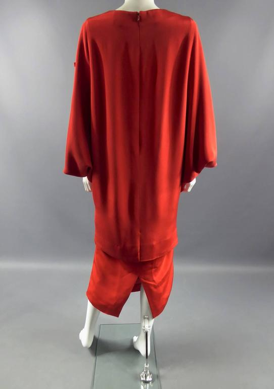 Pierre Cardin Batwing Sleeves Dress 4