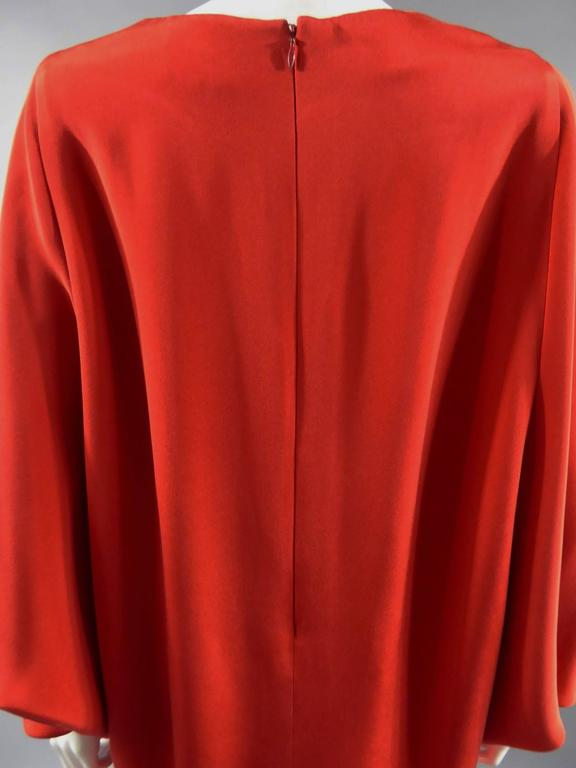 Pierre Cardin Batwing Sleeves Dress 9