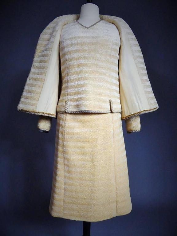 Chanel Haute Couture Suit, Circa 1970 In Good Condition For Sale In Toulon, FR