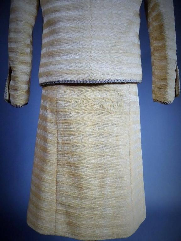 Chanel Haute Couture Suit, Circa 1970 For Sale 2