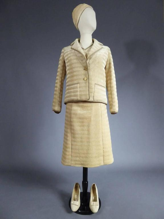 Chanel Haute Couture Suit, Circa 1970 For Sale 4