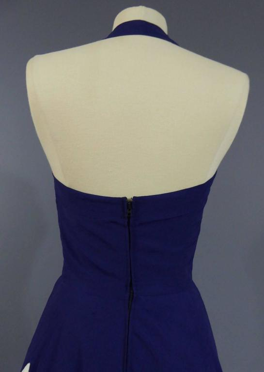 Henry à la Pensée Dress, circa 1950 For Sale 1