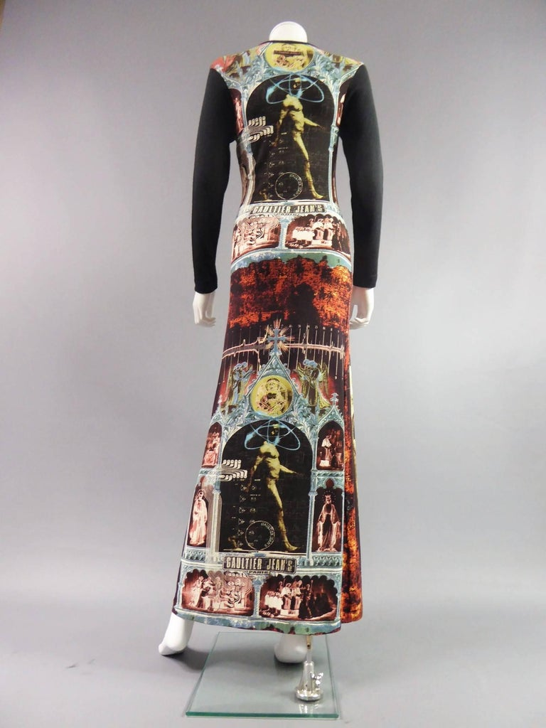 Gaultier Jean's Dress In Excellent Condition For Sale In Toulon, FR