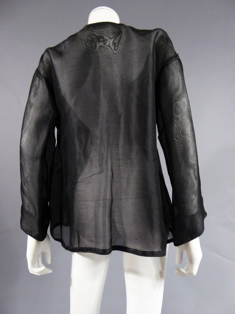 Yves Saint Laurent Rive Gauche Blouse Chinese Collection, Circa 1980 For Sale 3