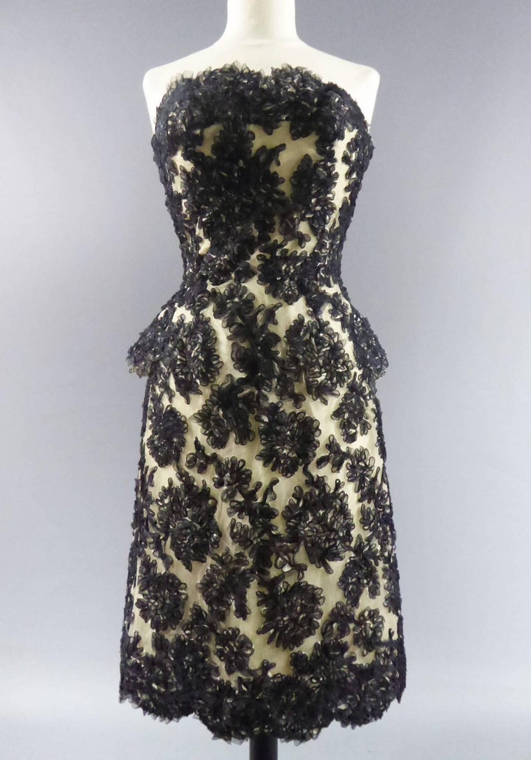 Carven Haute Couture Dress, Circa 1960 2