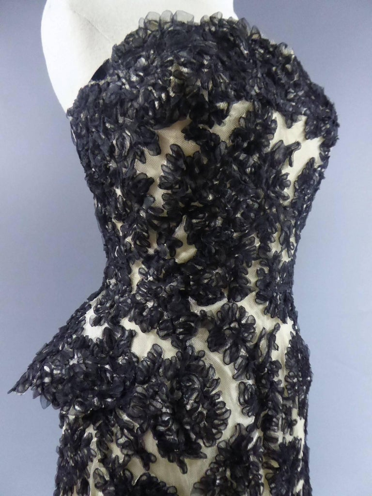 Carven Haute Couture Dress, Circa 1960 5