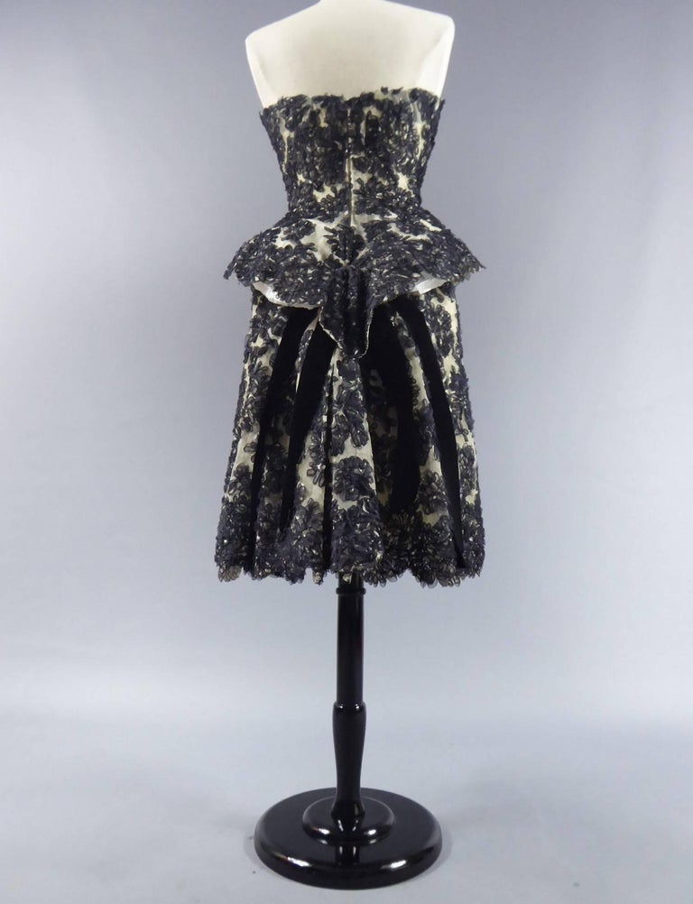 Carven Haute Couture Dress, Circa 1960 9