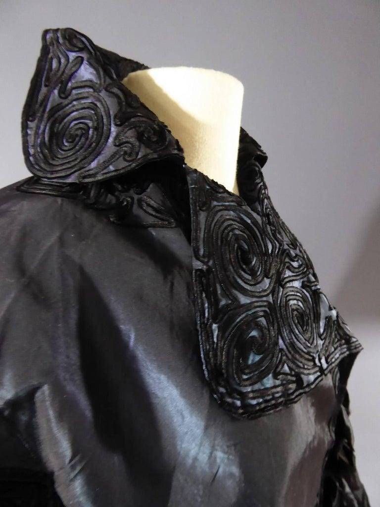 Jacques Doucet Haute Couture Evening Mantle, Circa 1900 For Sale 4