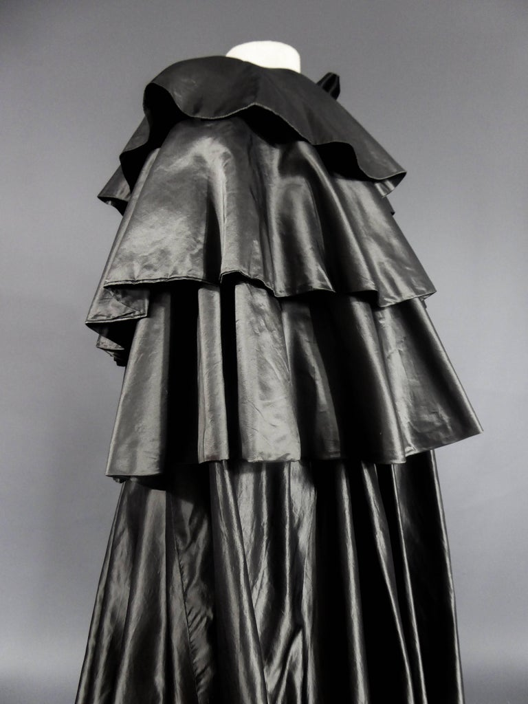 Christian Dior Haute Couture Cape Number 15592 For Sale 2
